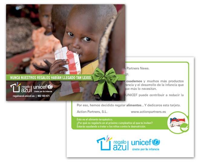 Regalo Azul Unicef