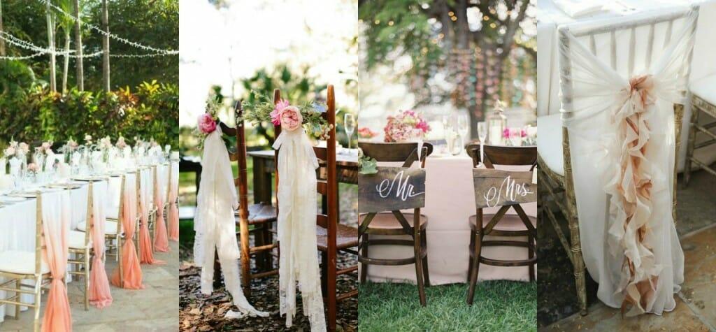 sillas decoración bodas