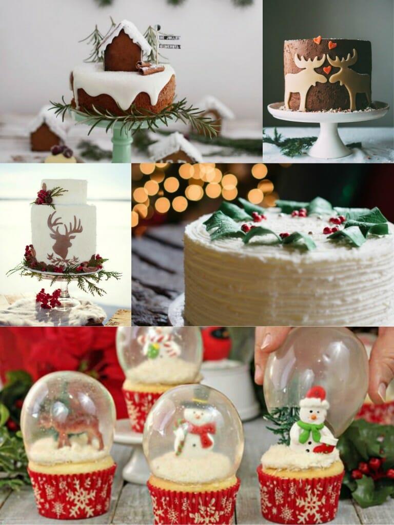 tartas boda navidad