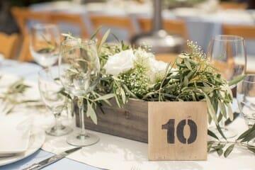 olivo decoración boda