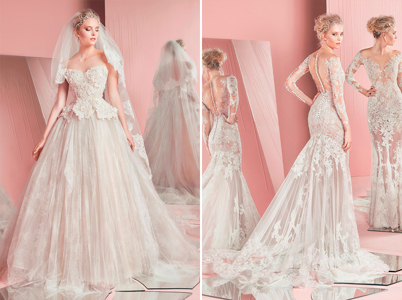 Tres vestidos de novia: ceremonia, banquete y fiesta | MiBoda.com