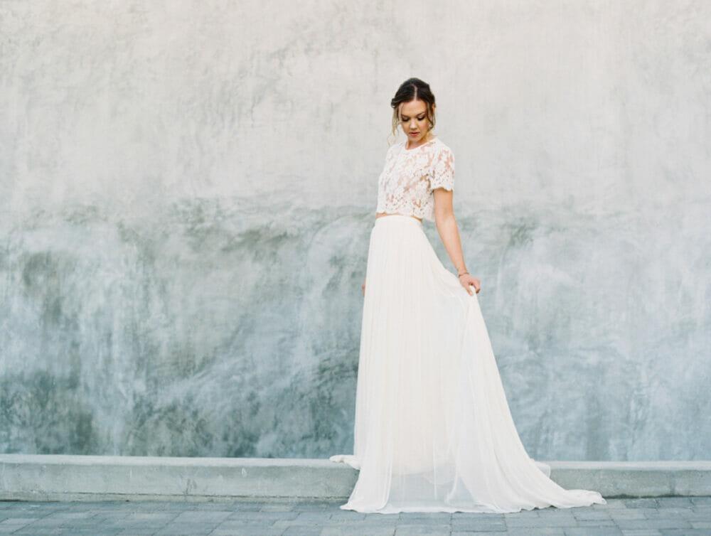 El vestido de novia se divide: sí a los dos piezas | MiBoda.com