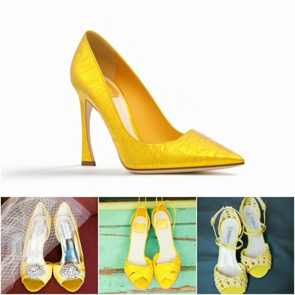 Zapatos amarillos Futuro Fashion para mujer Edición limitada barata Venta al por mayor Comprar bajo costo de envío barato despacho rápido efkjDe9K