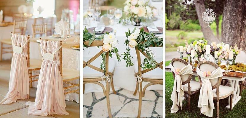 Detalles que no pueden faltar en la decoraci n de tu boda for Sillas para dormitorios matrimonio