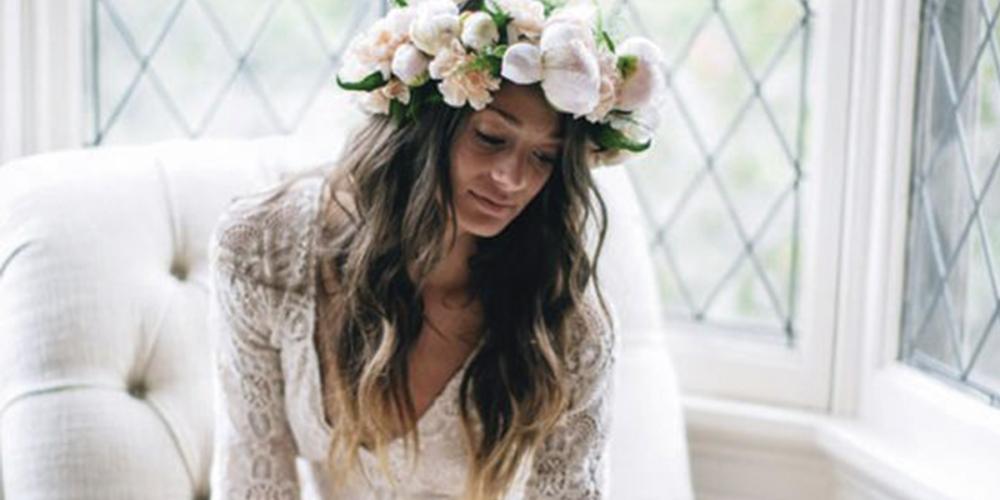 Peinados de novia para melenas largas la tendencia de - Peinados de melenas largas ...