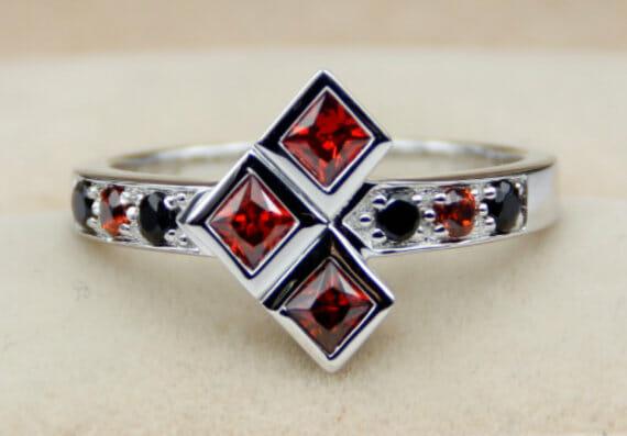 anillo rubi y diamante, HARLEY QUIN (1)