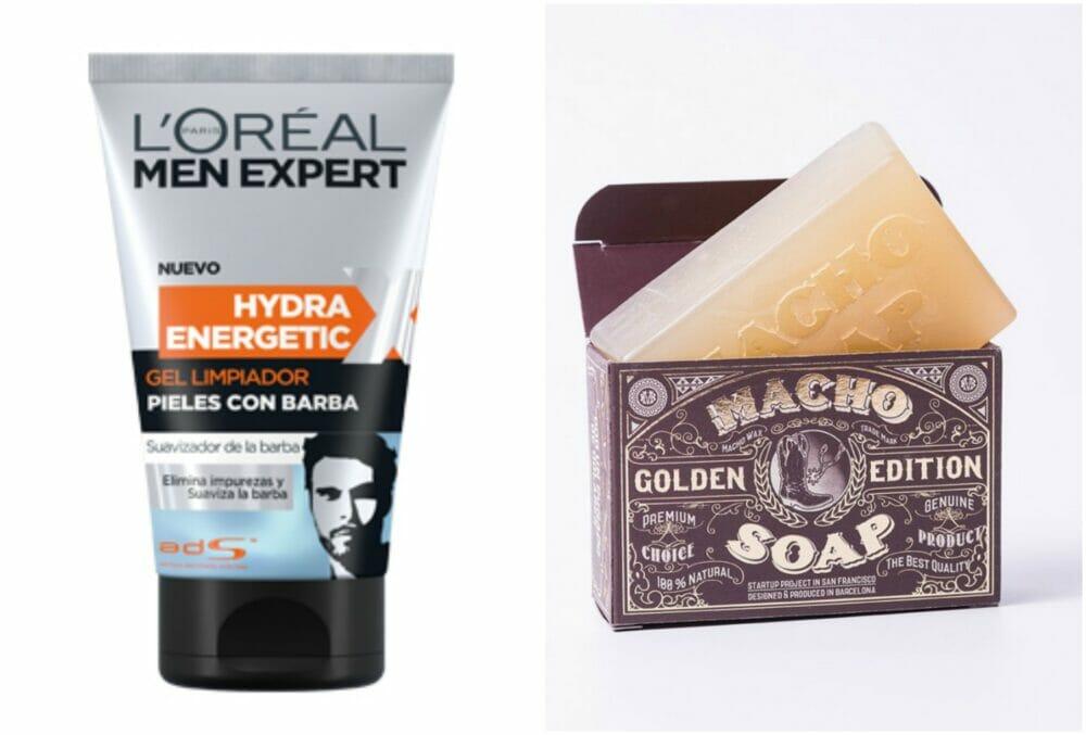 Loreal y Macho Soap - hidratantes barba