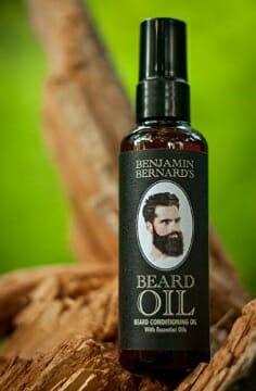 aceite para barbas - benjamin bernard